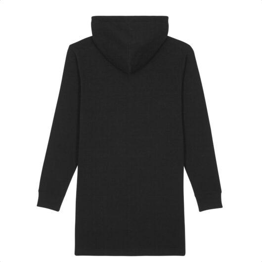 Hoodie Robe Dos Noir