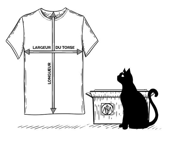 Prise de mesure T-shirt