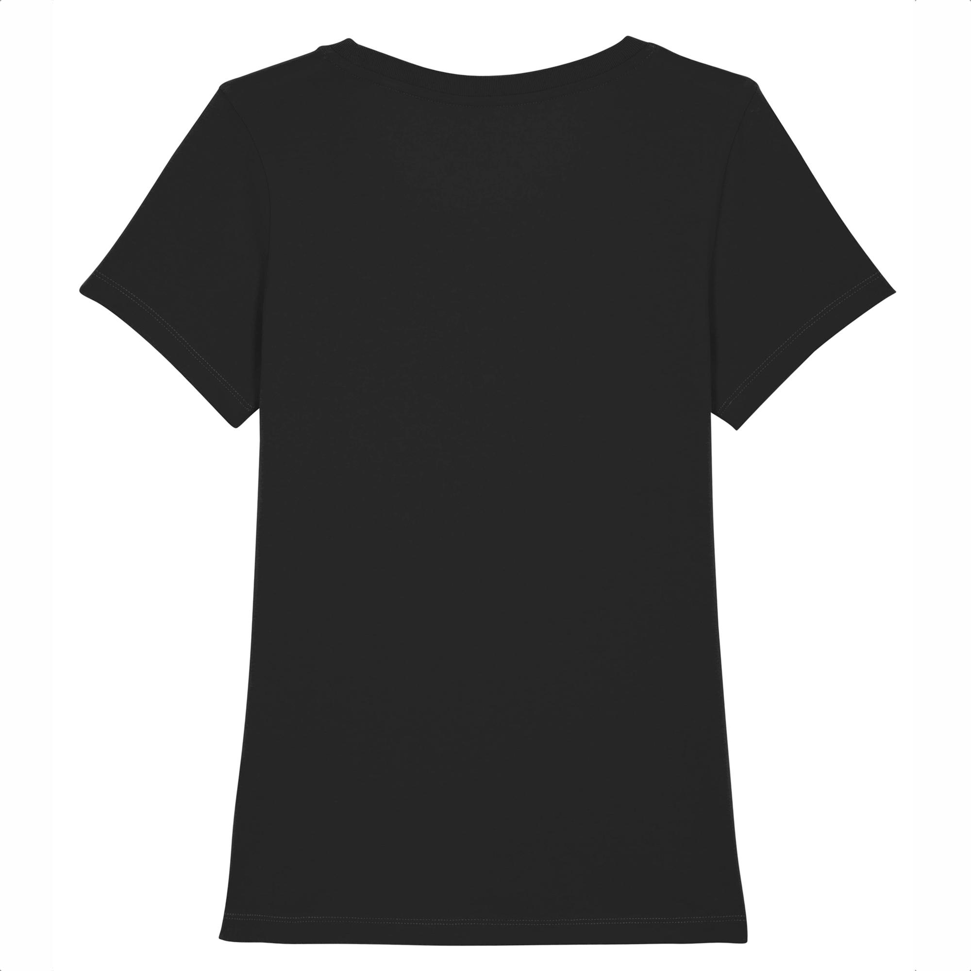 Dos du T-shirt Femme Noir