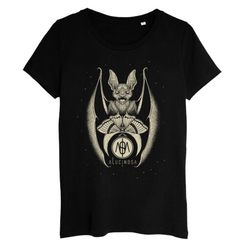 T-shirt Femme Chiroptera Crème