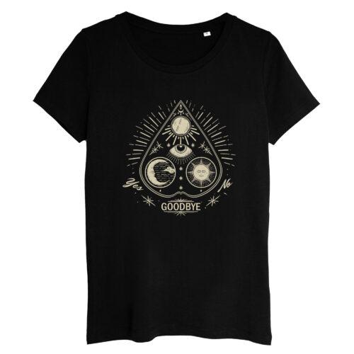 T-shirt Femme Goutte Ouija Gris