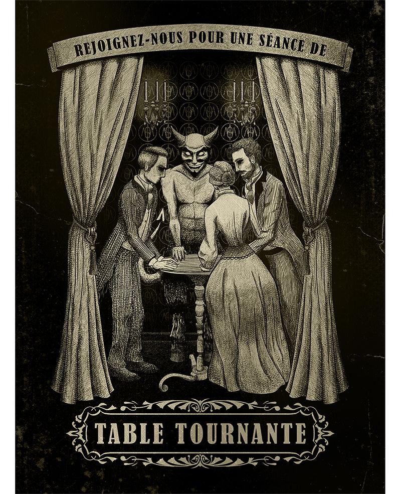 Affiche Table Tournante