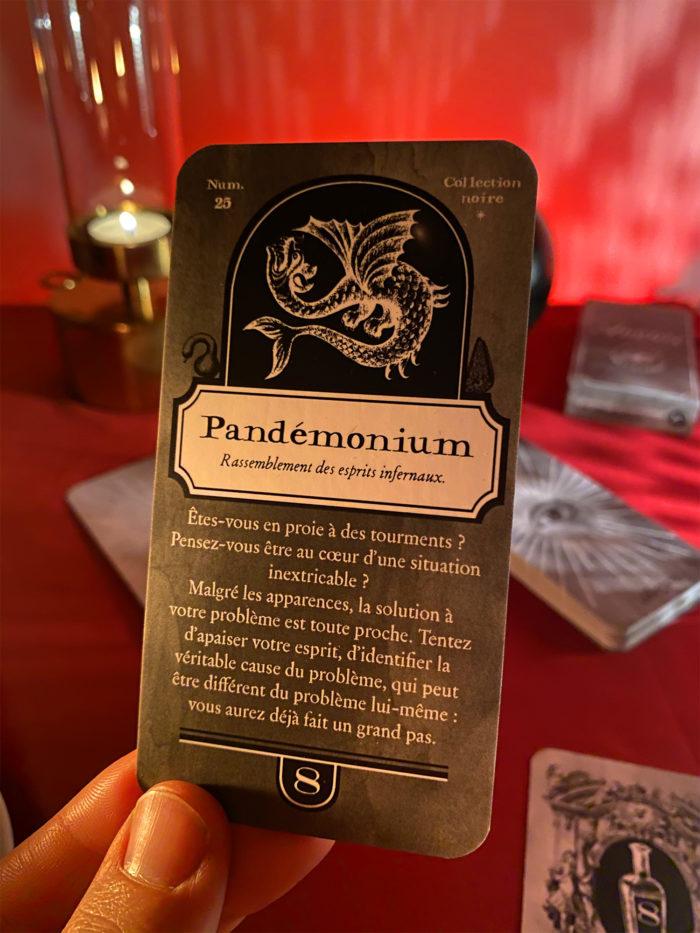 Carte de divination