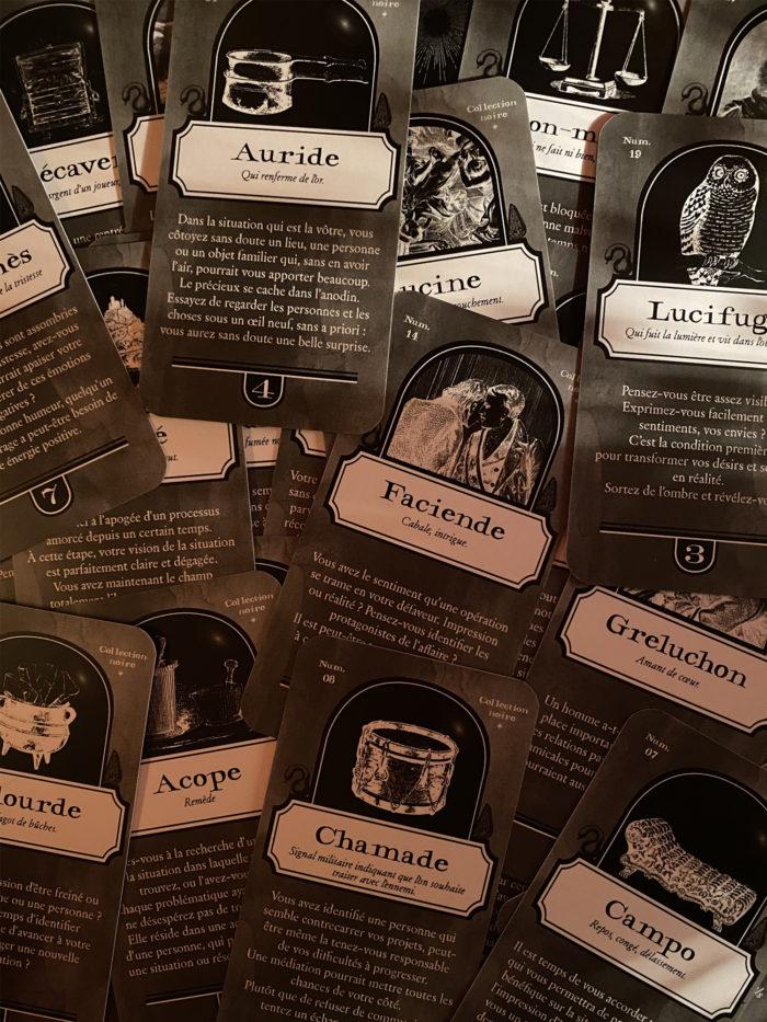 Cartes de divination