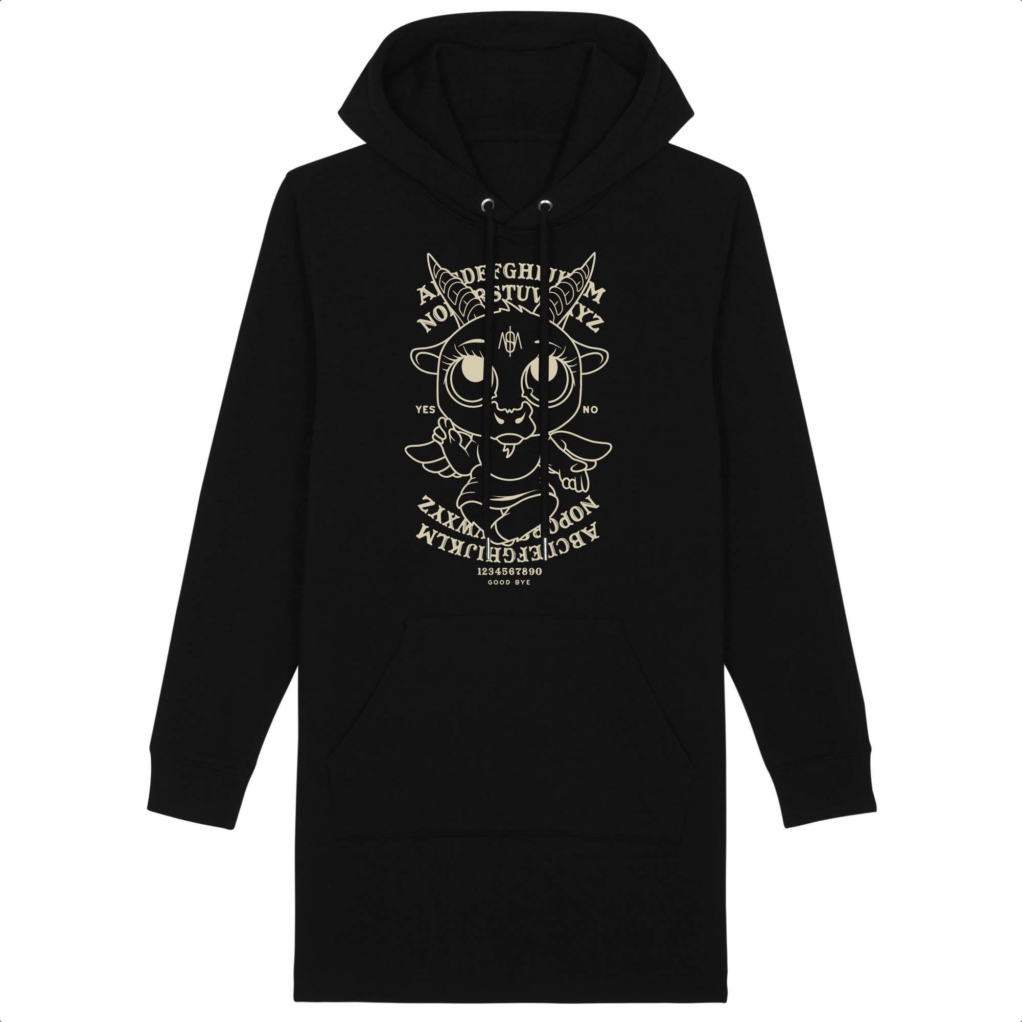 Robe hoodie Baby baphomet