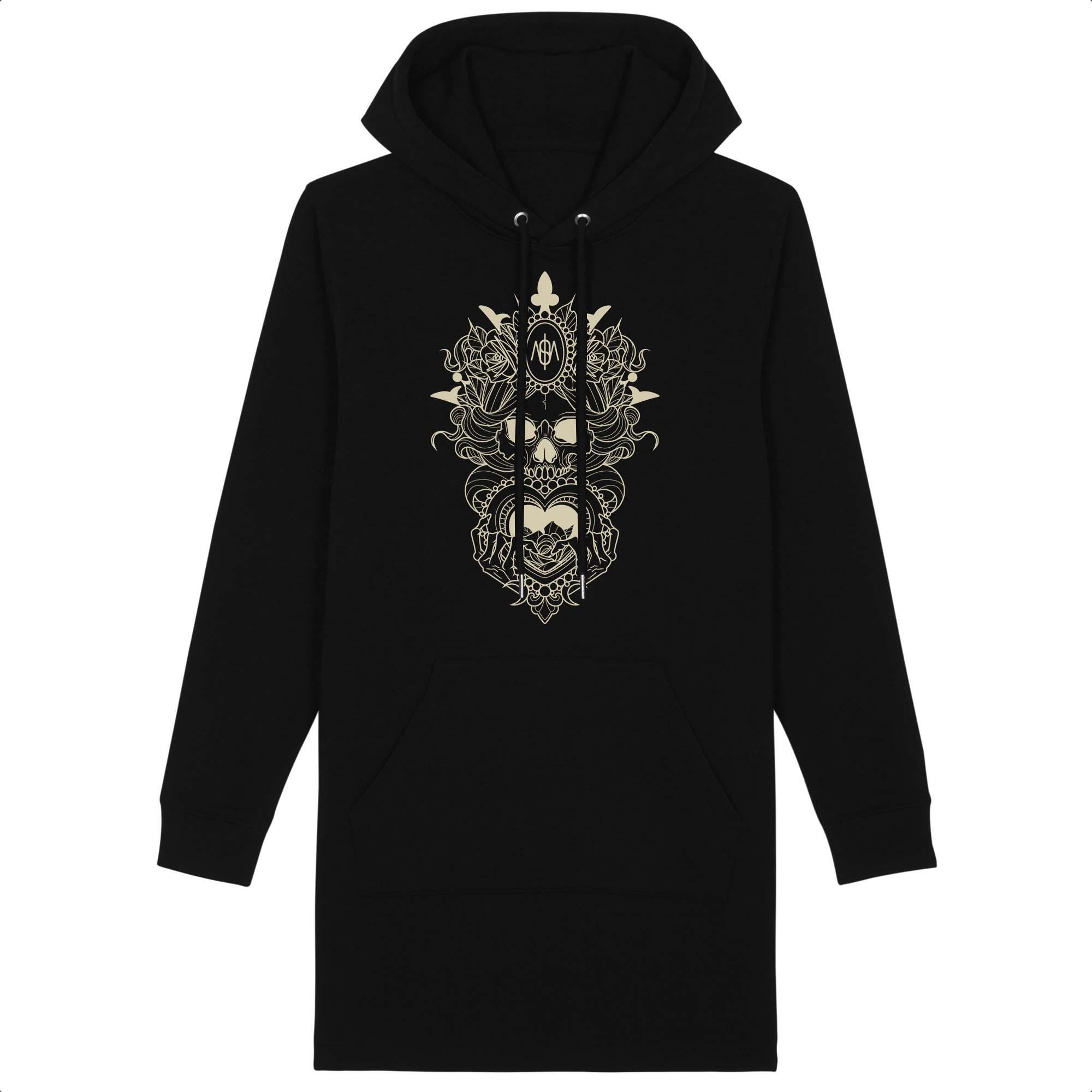 Robe hoodie Vanité
