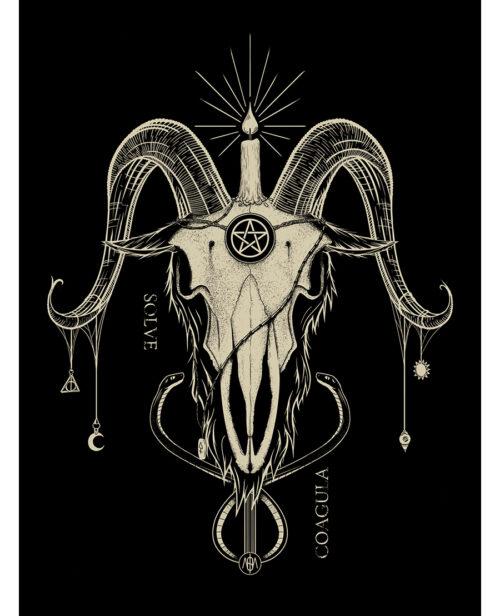 Affiche Baphomet
