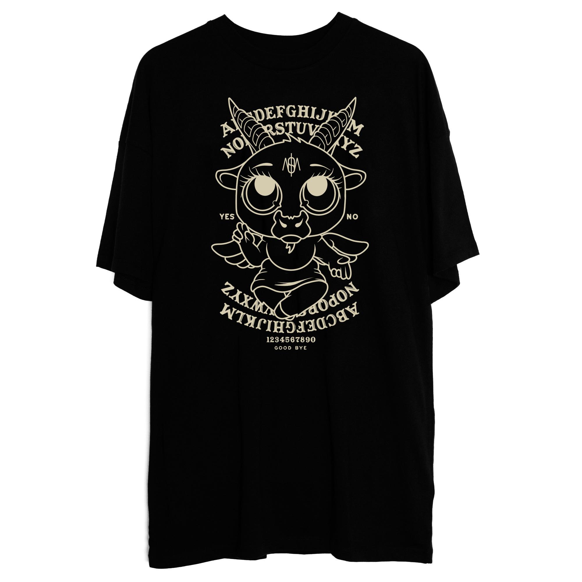 Robe T-shirt Baby Baphomet