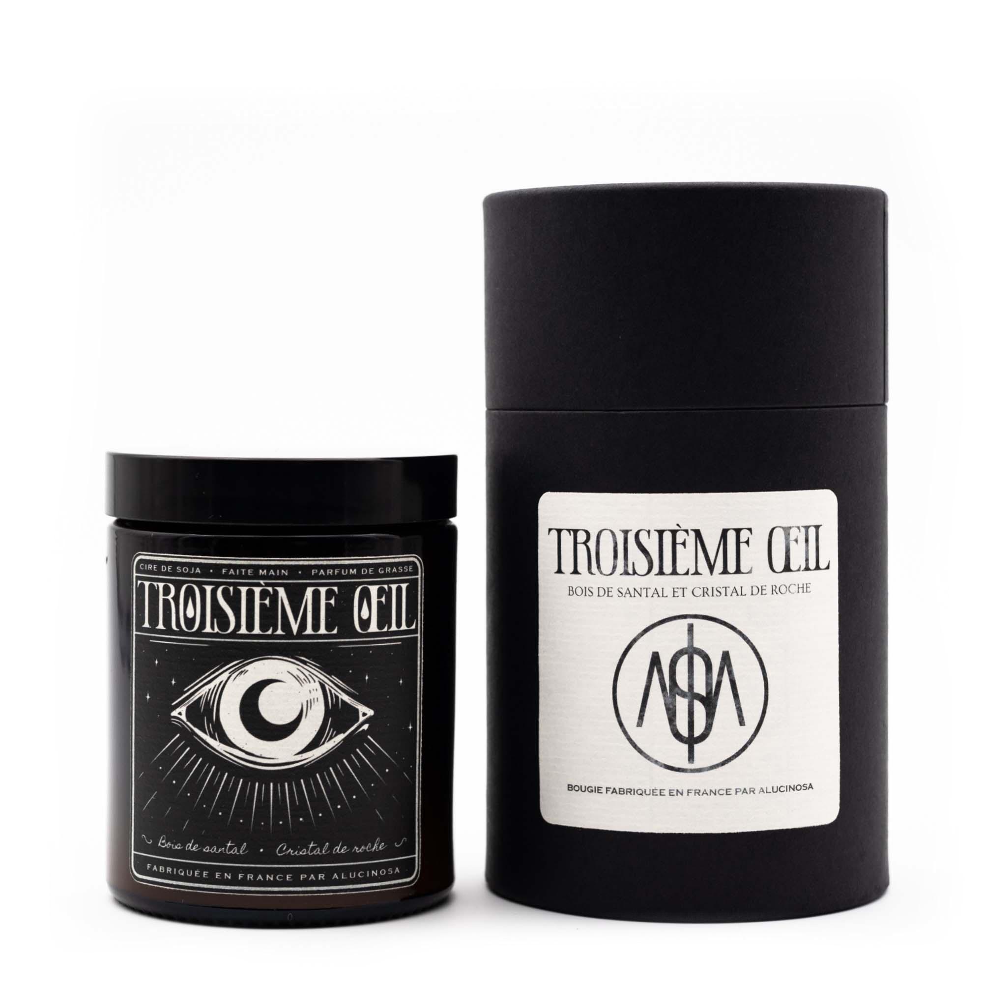 Bougie parfumée Troisième Oeil
